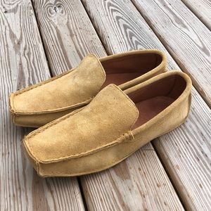 NEW! Eddie Bauer Square Toe Suede Driving Mocs